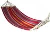 Гамак тканный, хлопок, цвет оранжевый-зеленый 200х80