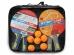 Набор START LINE 4 Ракетки Level 200, 6 Мячей Club Select, упаковано в сумку на молнии с ручкой.
